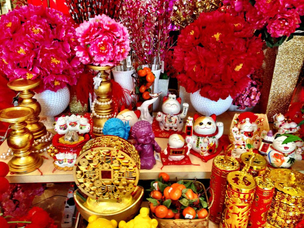 Kuala Lumpur bereitet sich auf Chinese New Year vor