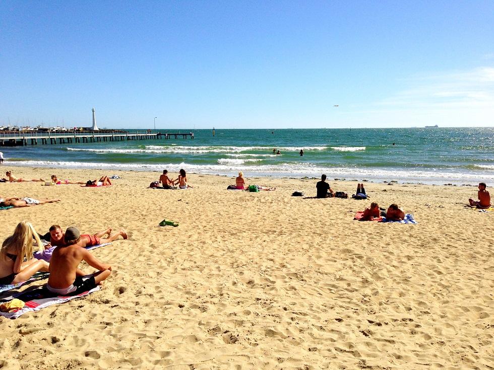 Strand in Melbourne