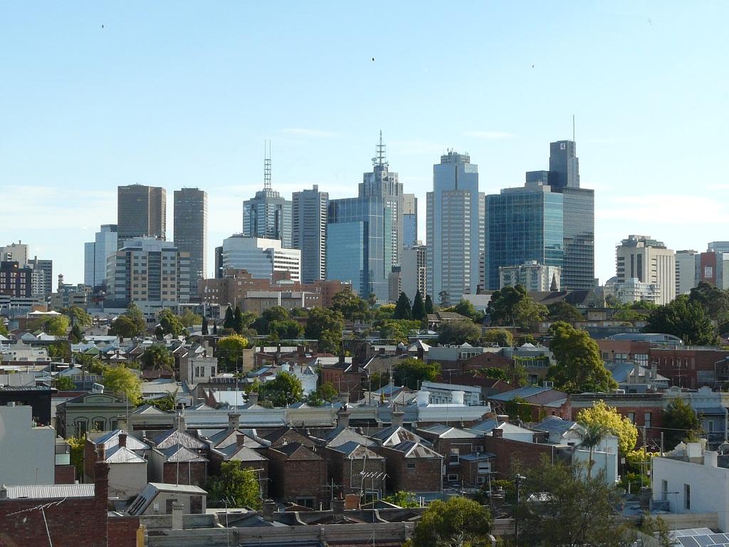Melbourne in voller Pracht
