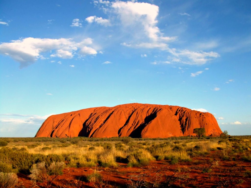 Ayers Rock (Uluru) in Australien