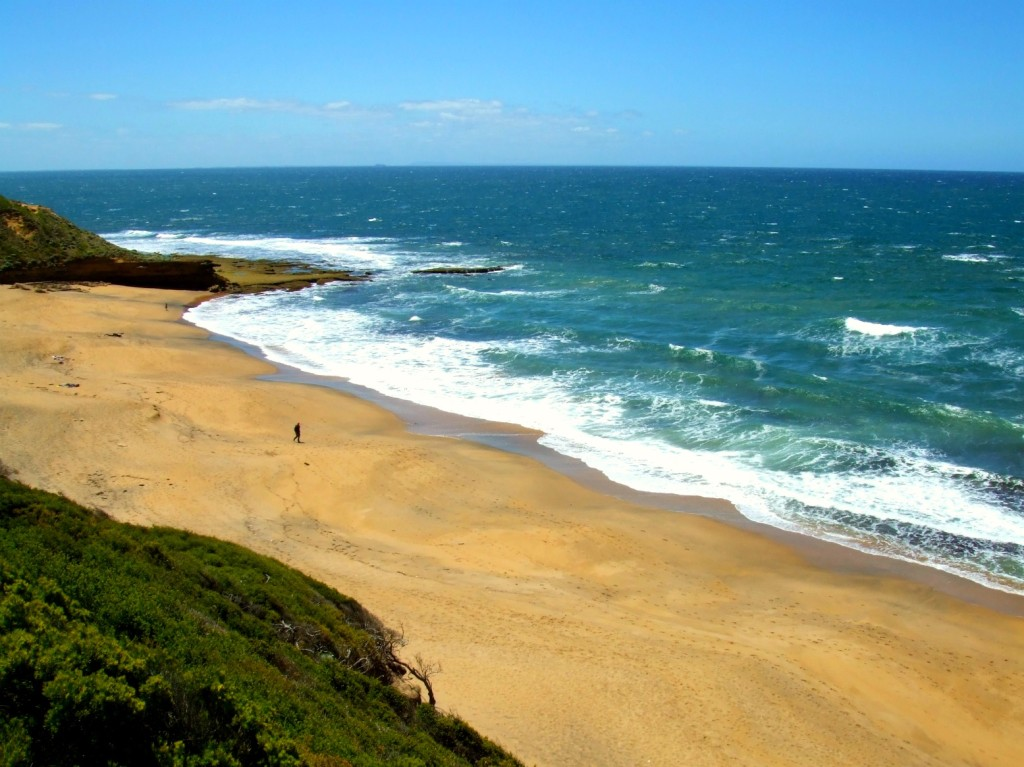 Strand an der Great Ocean Road in Australien