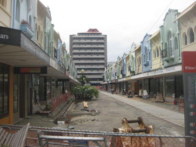 Christchurch ist durch die Erdbeben zerstört (Reiseblog und Foodblog Travel on Toast)