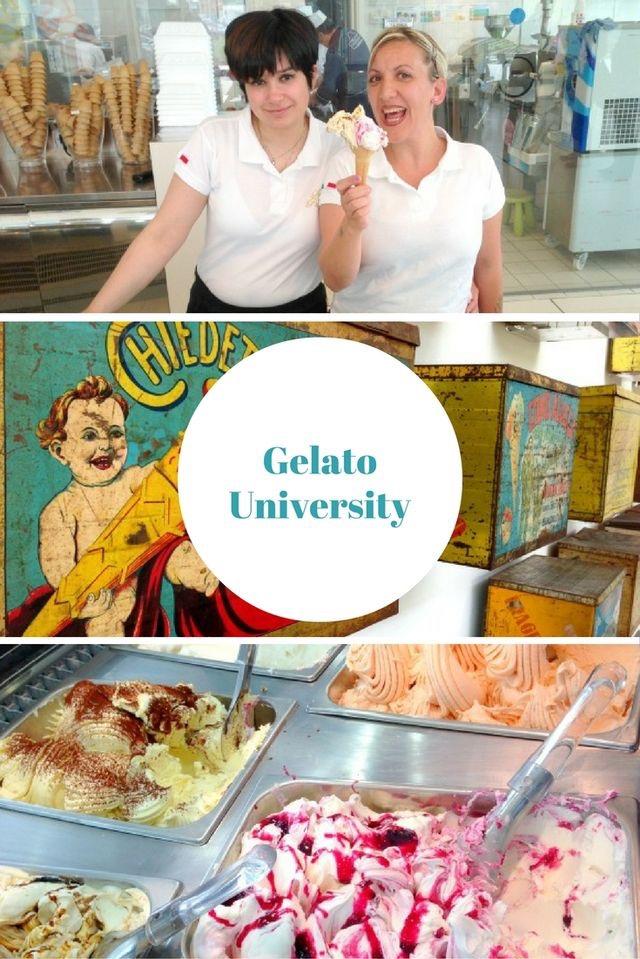 Gelato University bei Bologna in Italien - Artikel auf meinem Reiseblog