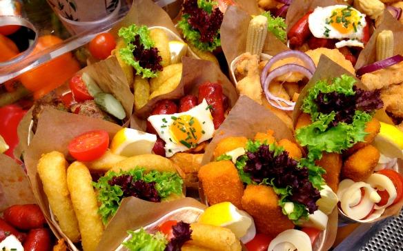 Mittagessen auf dem Mercat de la Boqueria