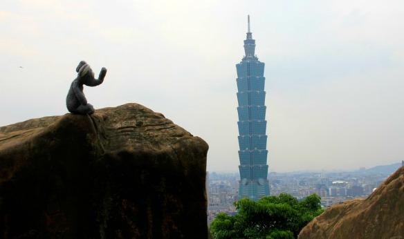Taiwan - Aussicht auf Taipeh