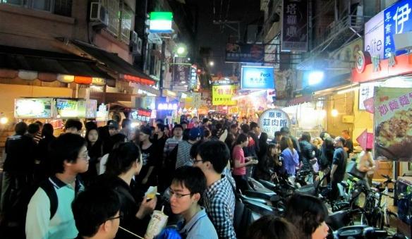Taiwan - Nachtmarkt in Taichung