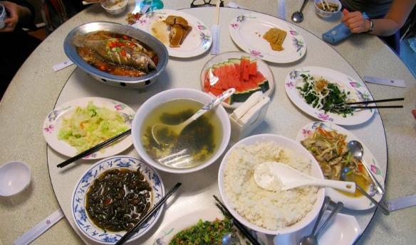 Mittagessen in Taiwan