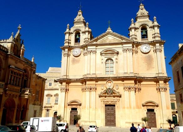 Eine von 365 Kirchen in Malta