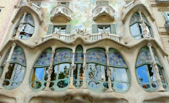 Casa Batllo von Gaudi in Barcelona