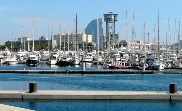 Der Hafen von Barcelona (Reiseblog und Foodblog Travel on Toast)