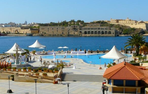 Grand Hotel Excelsior auf Malta in Valletta