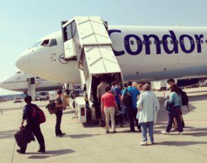 Mexiko-Flug mit Cockpit Besuch
