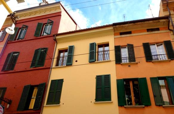 Häuser in Bologna