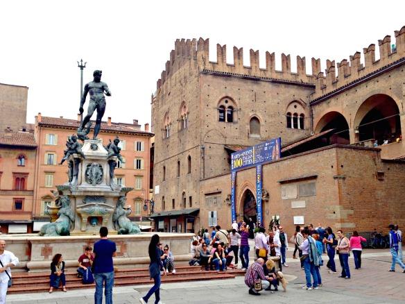Innenstadt von Bologna