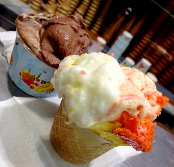 Italienisches Gelato (Reiseblog und Foodblog Travel on Toast)