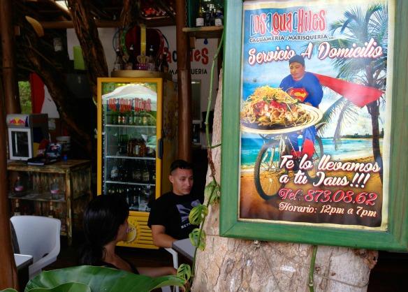 Restaurant Aguachiles in Playa del Carmen