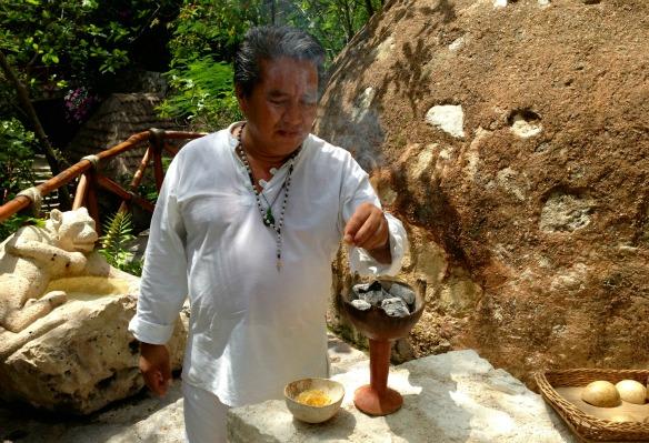 Schamane Eduardo in Mexiko