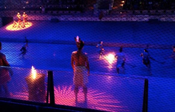 Mexiko - Feuerball-Hockey bei den Maya