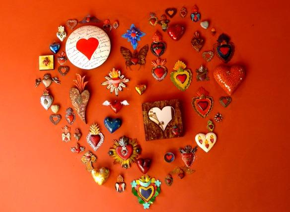 Herzen in Mexiko