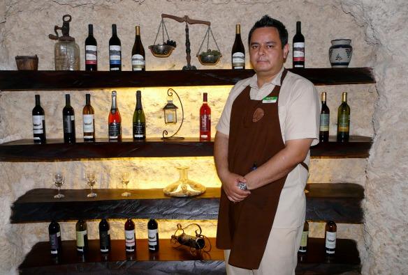Mexiko - Weinverkostung im Xcaret Park