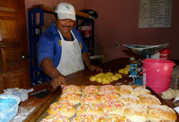 Maya-Bäckerei in Mexiko