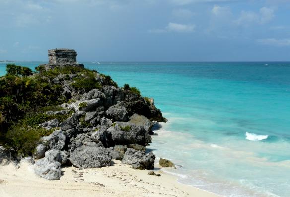 Mexiko - Maya-Ruinen am Strand von Tulum