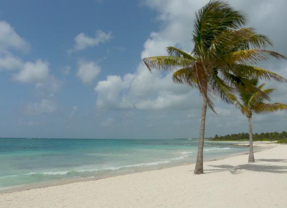 Karibikküste von Mexiko