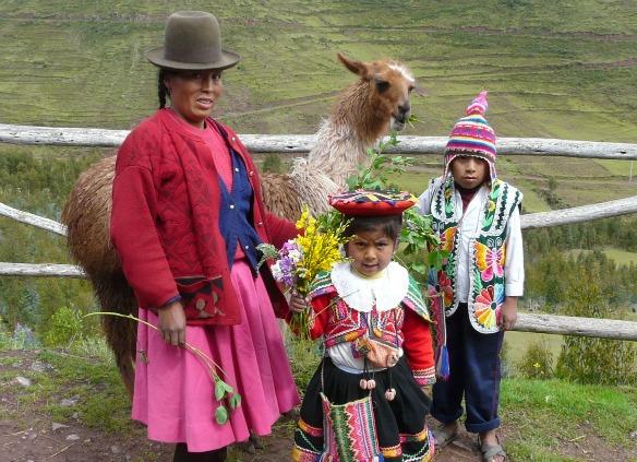Menschen in Peru
