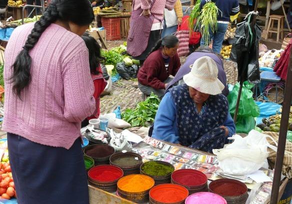 Markt in Peru