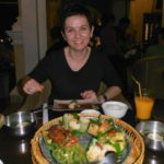 Birgit in Kambodscha