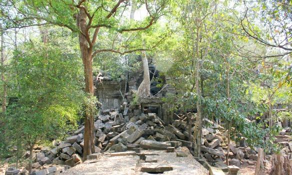 Tempel von Beng Mealea in Kambodscha