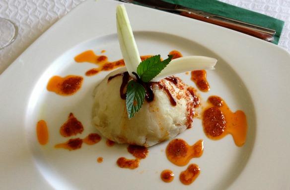 Essen bei Bodegon Patamero auf Teneriffa