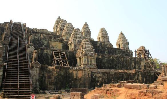 Phnom Bakheng in Kambodscha