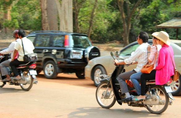 Verkehr in Kambodscha