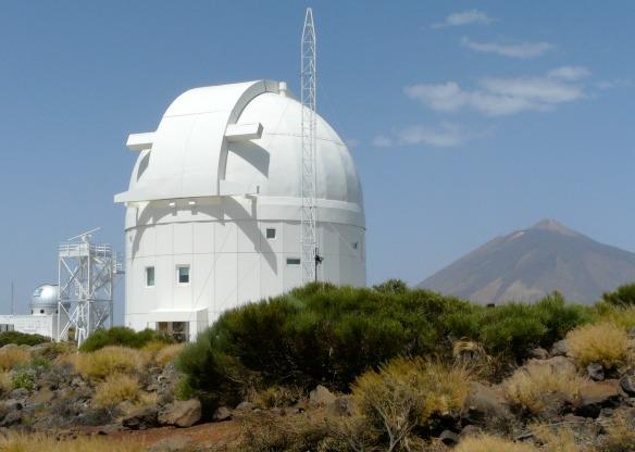 Teneriffa - Das Observatorium des Teide