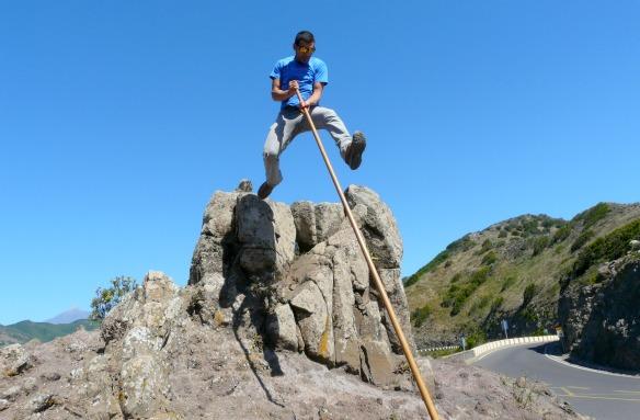 Hirtensprung auf Teneriffa