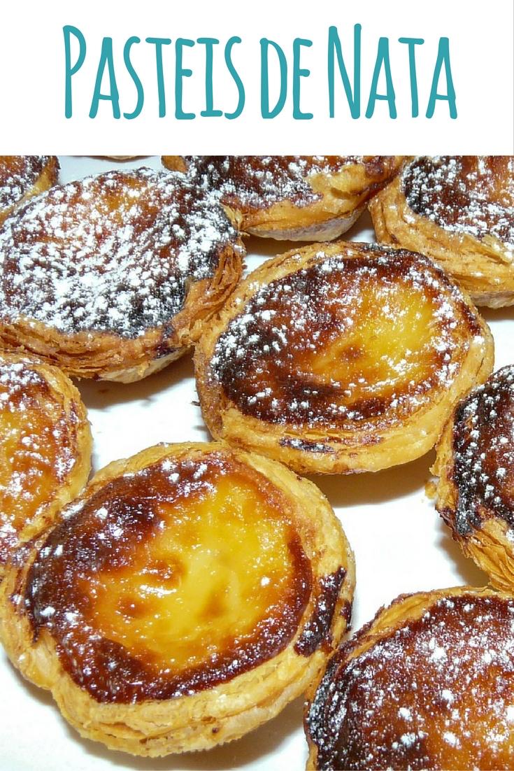 Pasteis de Nata Rezept: Puddingtörtchen aus Portugal