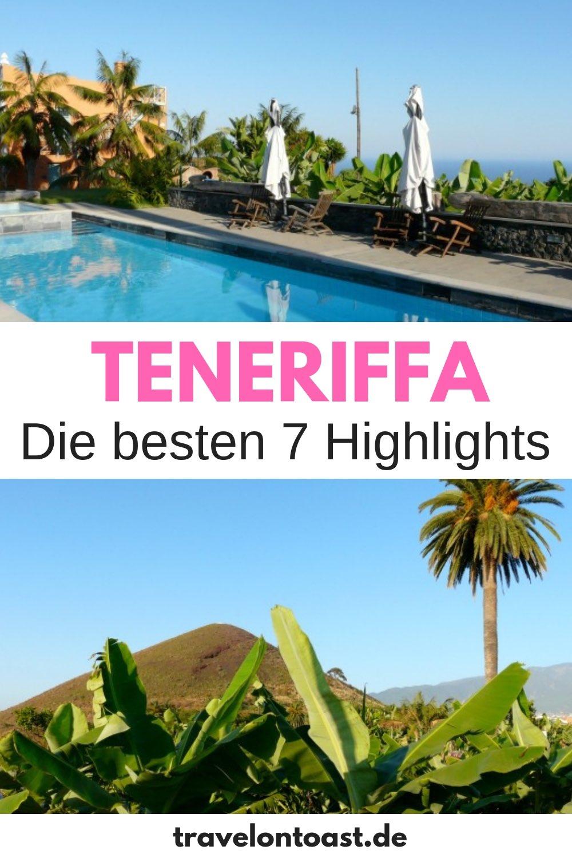 Die besten Teneriffa Tipps für euren Kanaren Urlaub - mit 7 Sehenswürdigkeiten und Highlights, die ihr erleben müsst (etwa Teneriffa Strände)! Der Guide für euren Teneriffa Urlaub. #Teneriffa #Kanaren #Spanien