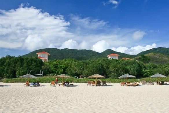Der Strand von Hainan