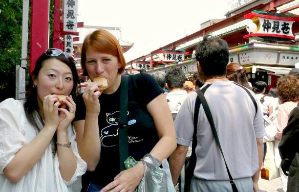 Ich mag das Essen in Japan