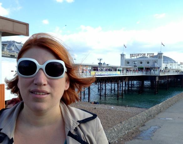 Reiseblogger Anja Beckmann in Südengland