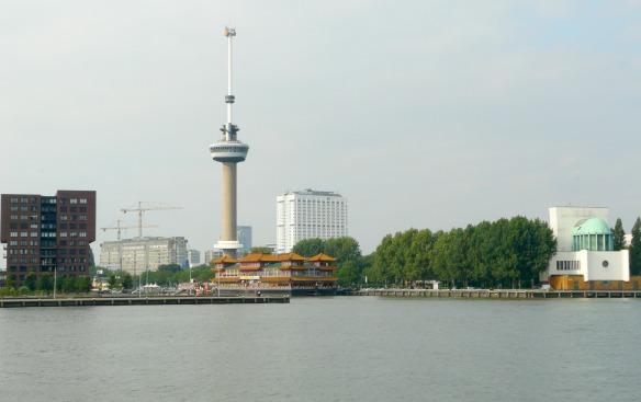 Rotterdam vom Wasser aus