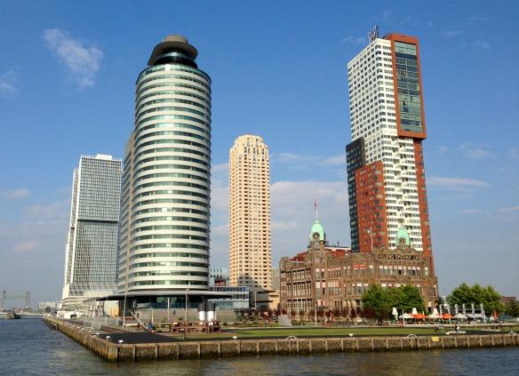 Architektur von Rotterdam