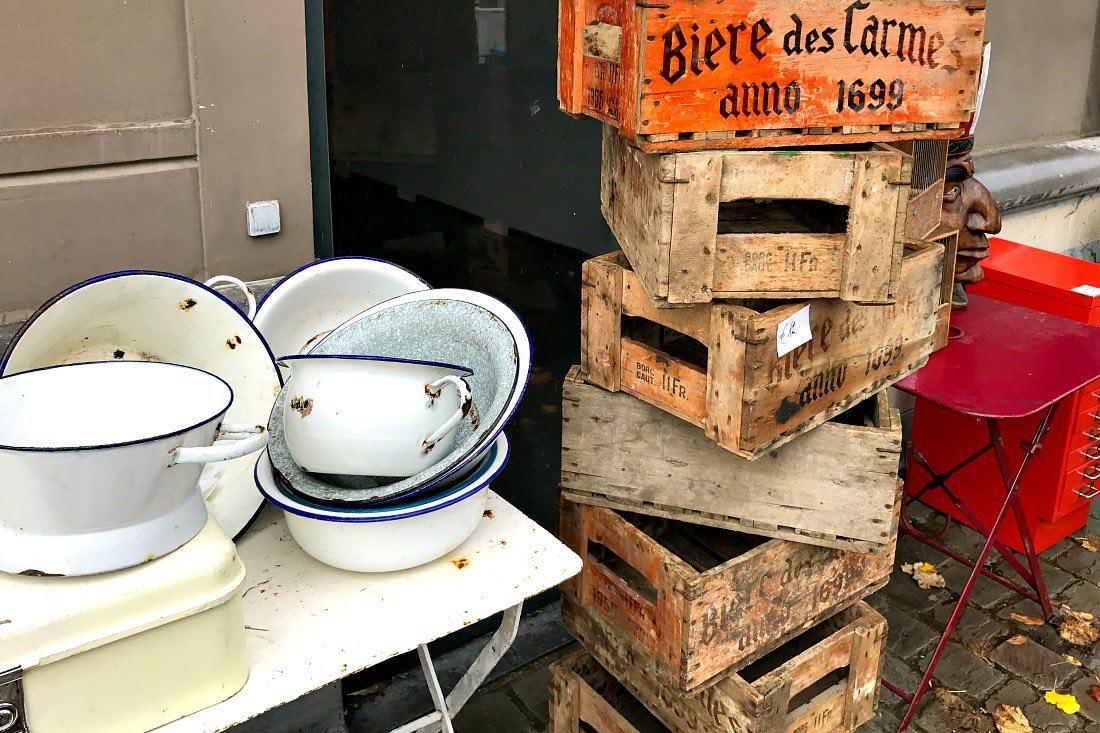 Antikmarkt Tongeren: Der größte Flohmarkt Belgiens