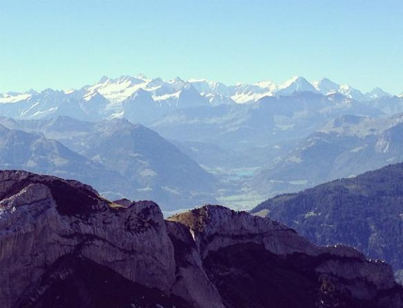 Schweiz - Berge bei Luzern