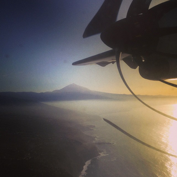 Abflug von La Gomera