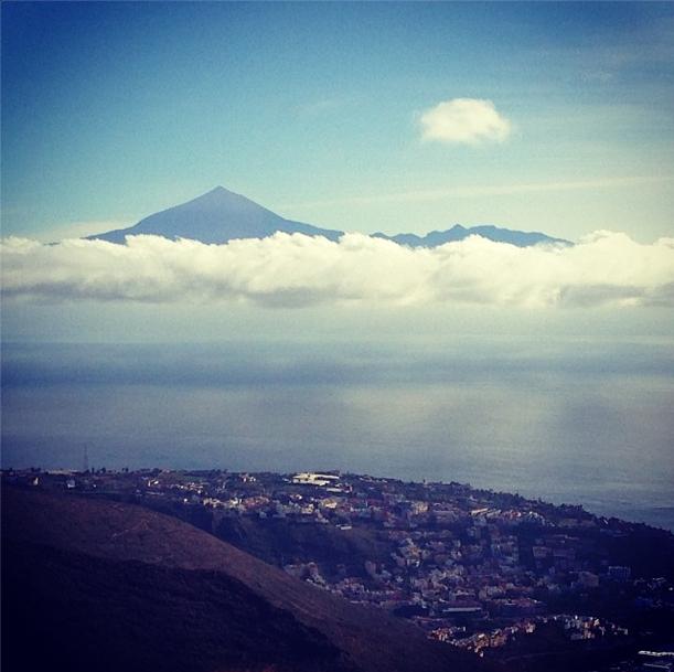 La Gomera, La Palma und der Tiede