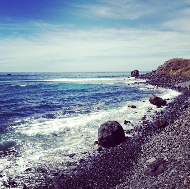 Strand von La Gomera