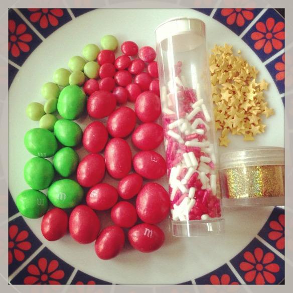 Making cupcakes