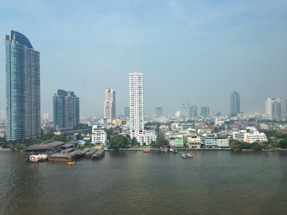 Direktflug nach Bangkok - Ankunft